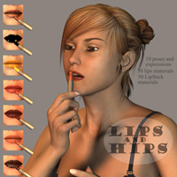 Lips and Hips 3D Figure Essentials Oskarsson