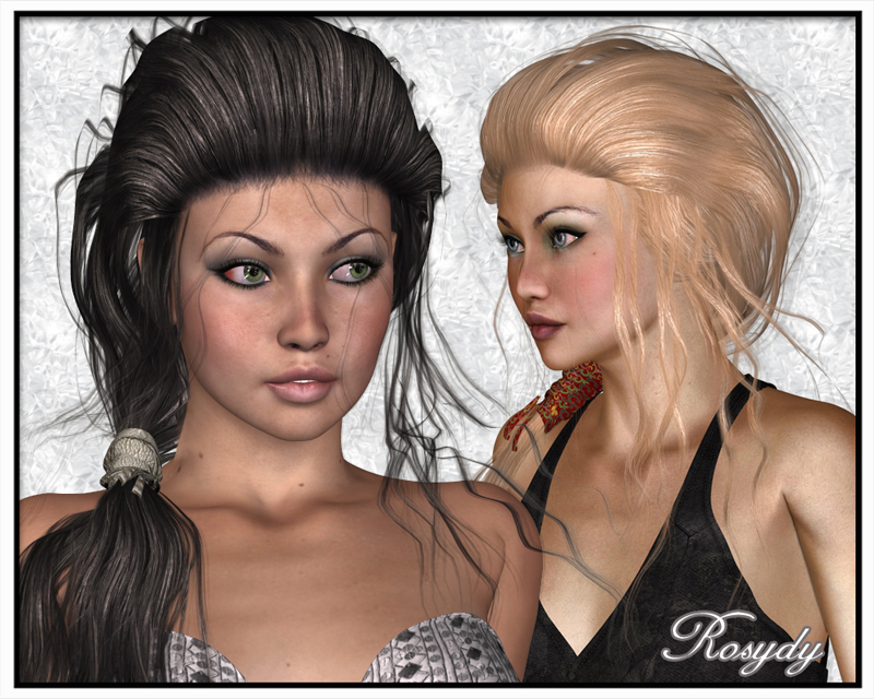 Rosydy Hair for V4