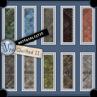 Materialistic - Quilted II  Valerian70