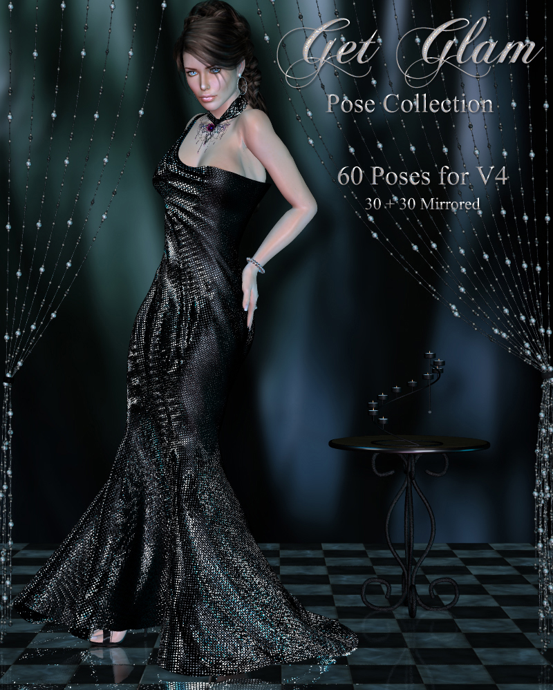 Get Glam Pose Collection