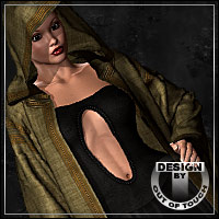 PHANTASMIC: Fantasy Robe for V4/M4 Clothing Themed outoftouch