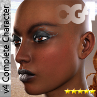 Cyber Goddess V4 Themed Hair Characters Clothing Accessories Darkworld