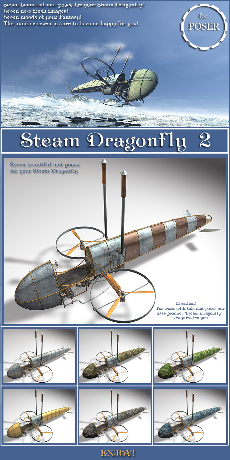 Steam Dragonfly 2