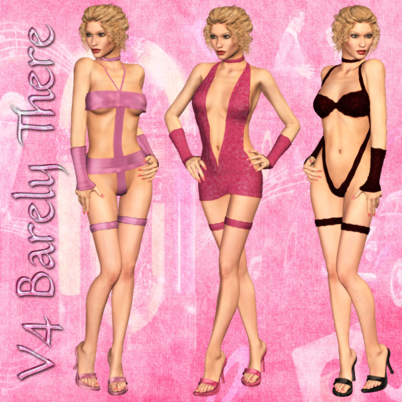 V4 'Barely There' Clothing
