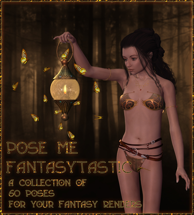 Pose Me FantasyTastic by lunchlady