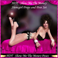 HOT Show Me The Money 3D Models 3D Figure Essentials lululee