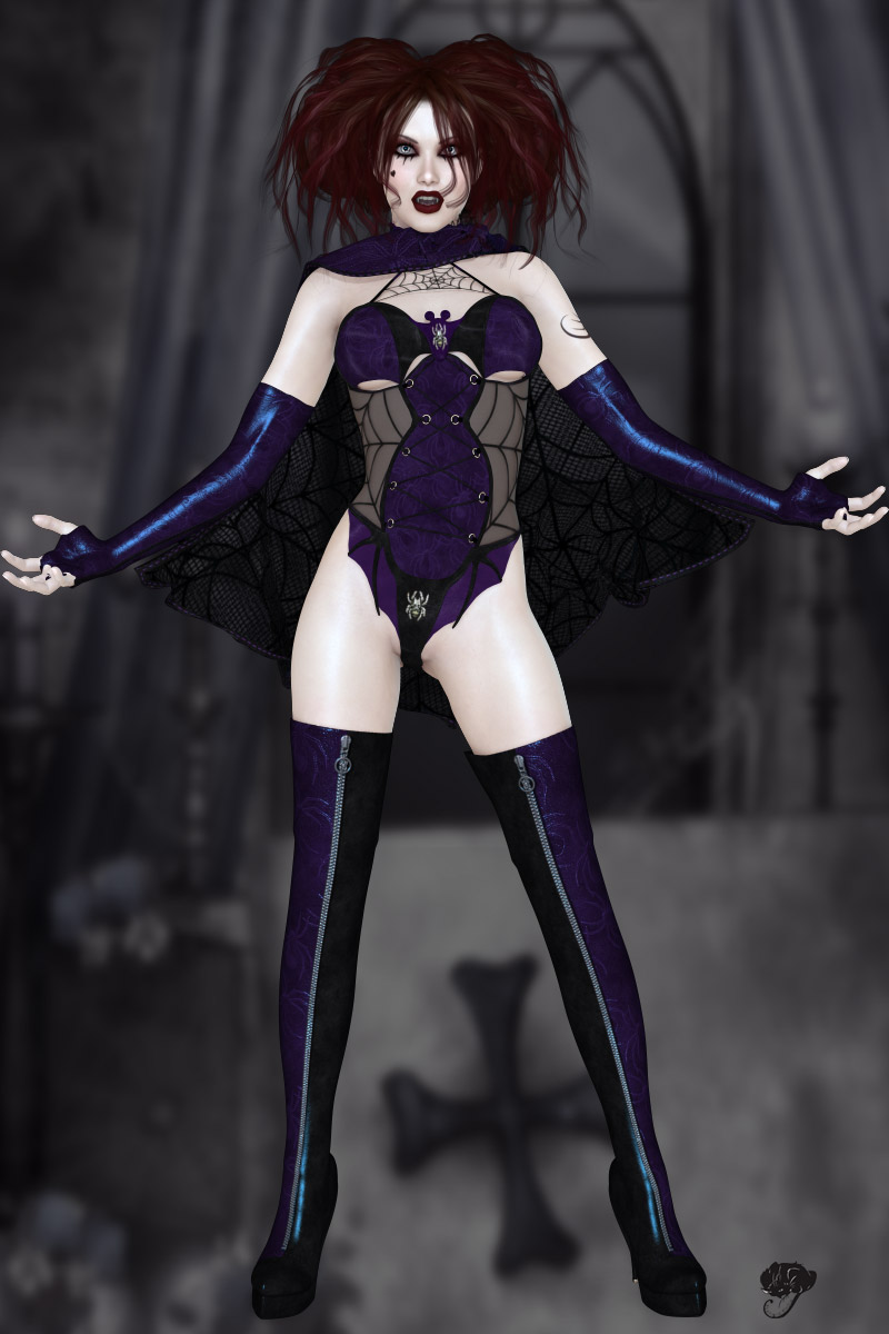 Vamp for Bat Outfit