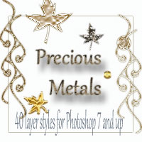 Precious Metals Themed 2D And/Or Merchant Resources antje