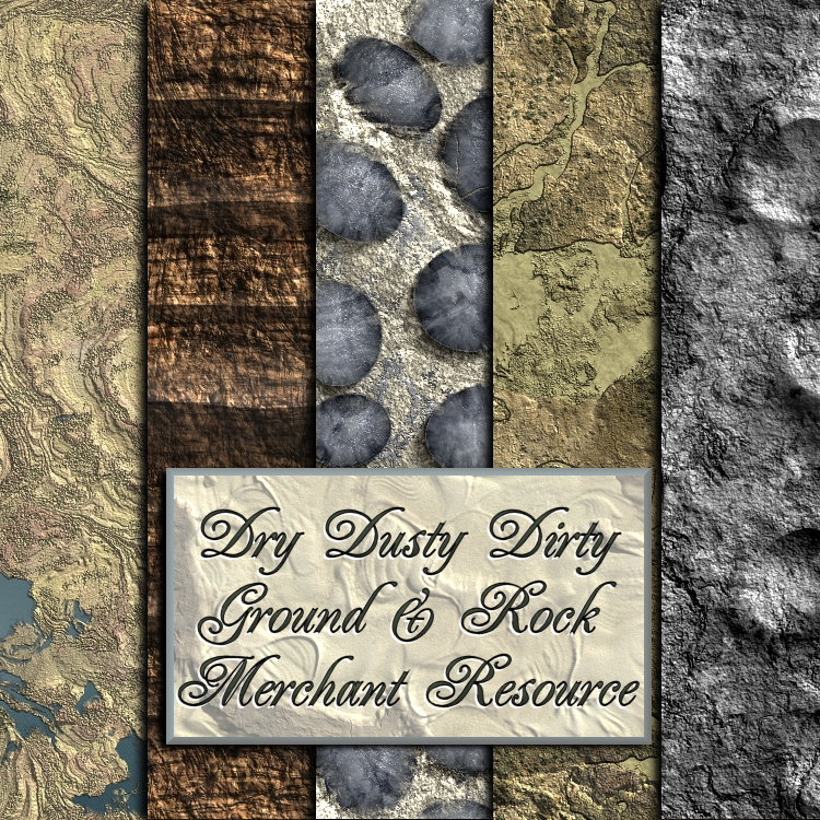 SD Dry Dusty Dirty Ground And Rock Textures Merchant Resource