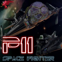 P11 Spacefighter Transportation Themed Stand Alone Figures Popgriffon