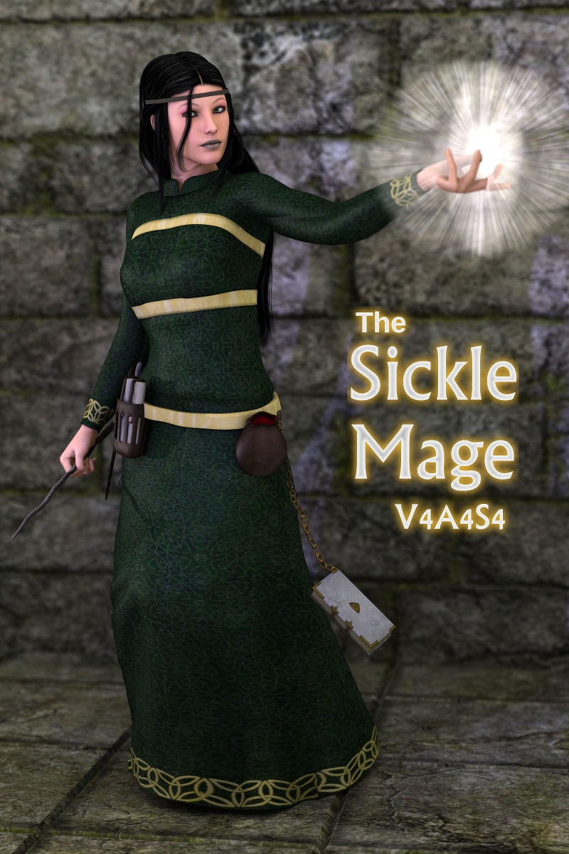 The Sickle Mage V4A4S4