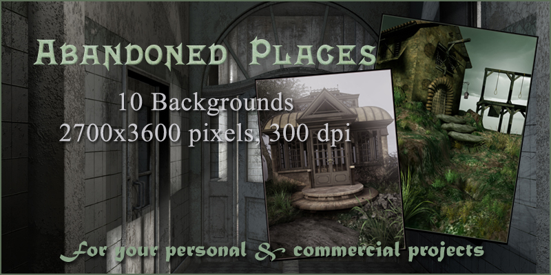 Abandoned Places Backgrounds