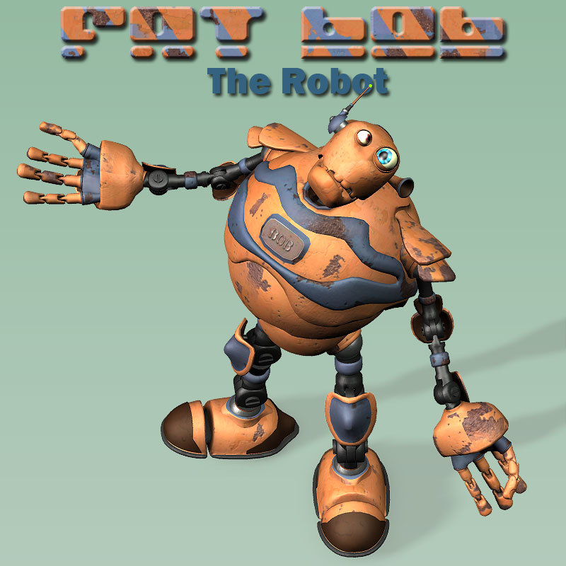 Fat Bob the Robot