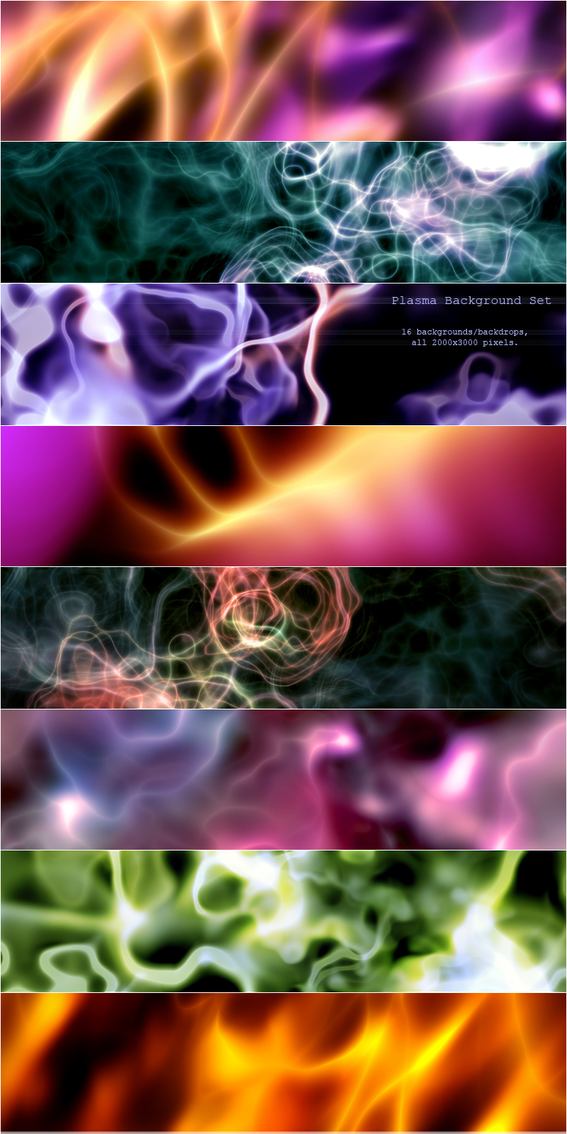 Plasma Background Set