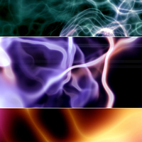 Plasma Background Set 3D Models 2D 1971s