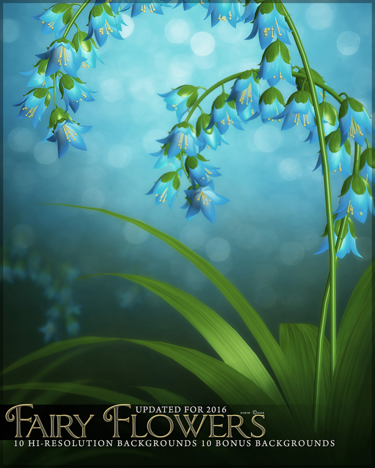 Fairy Flower Backgrounds