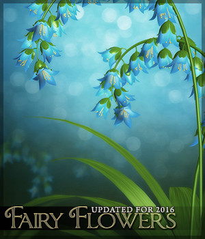Fairy Flower Backgrounds 2D Sveva