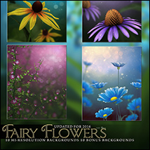 Fairy Flower Backgrounds image 1