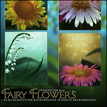 Fairy Flower Backgrounds image 2