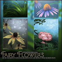 Fairy Flower Backgrounds image 3
