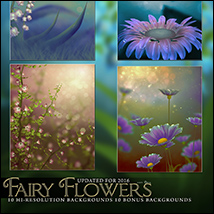 Fairy Flower Backgrounds image 4