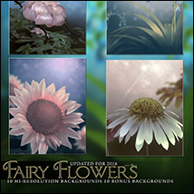 Fairy Flower Backgrounds image 5