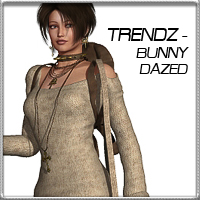 Dazed & Confused for Bunny Dazed 3D Figure Assets vyktohria