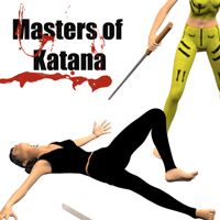 Masters of Katana 3D Models 3D Figure Essentials PainMD