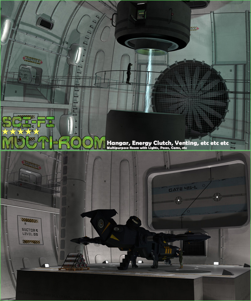 SciFi Multi-Room