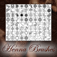 Henna Brushes 2D And/Or Merchant Resources Atenais