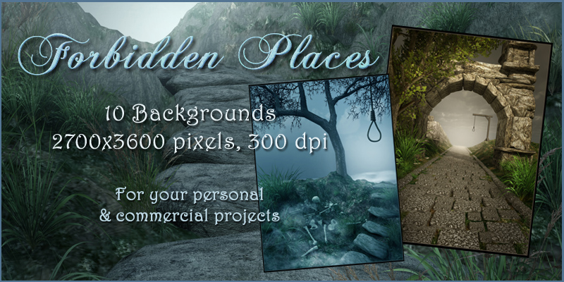 Forbidden Places Backgrounds