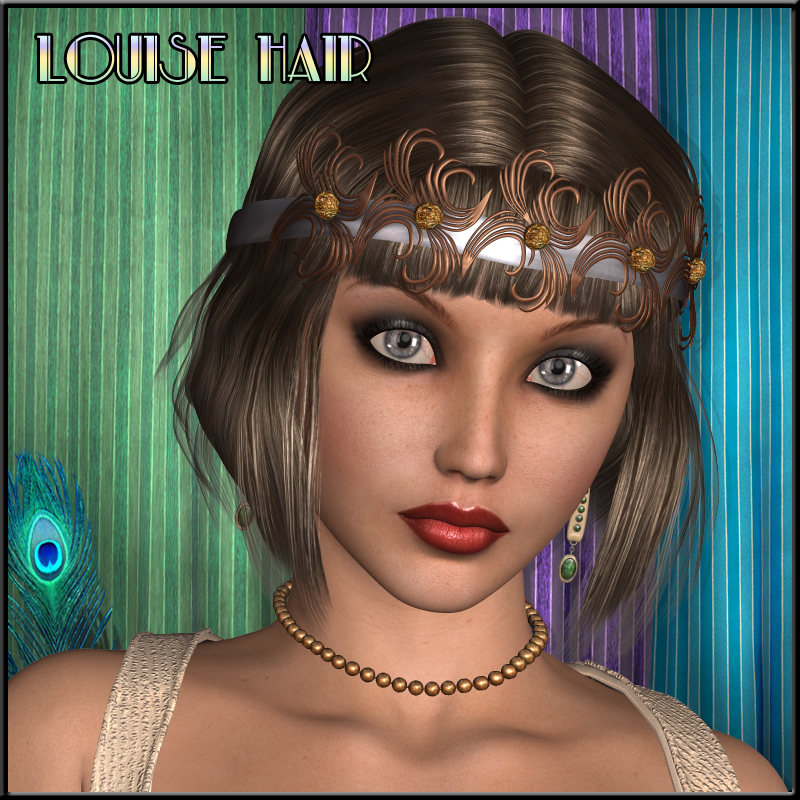 Louise-Bob Hair for V4