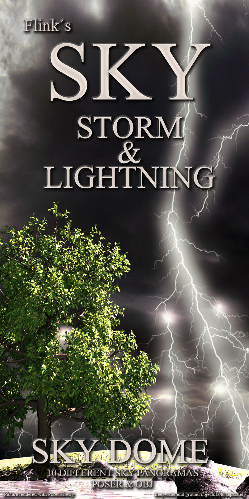 Flinks Sky Storm and Lightning by Flink
