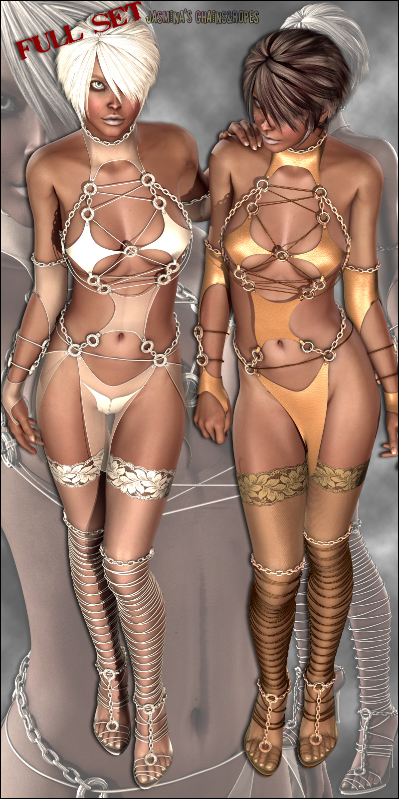 Chains & Ropes Dressing Bundle (V4.2 Elite,Aiko4)