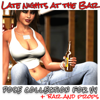 Late Nights at the Bar 3D Models 3D Figure Essentials Software ironman13