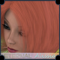 Eternal for Alissia Hair Pack  Valerian70