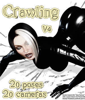 Crawling 3D Figure Assets 3D Models Darkworld