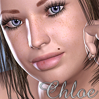 Chloe 3D Figure Essentials DigitalDreamsDS