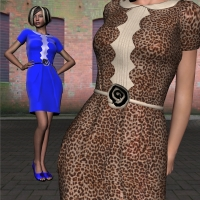 Retro Chic New York for V4-S4-Elite-A4-G4-Alice 3D Figure Essentials 3D Models chasmata
