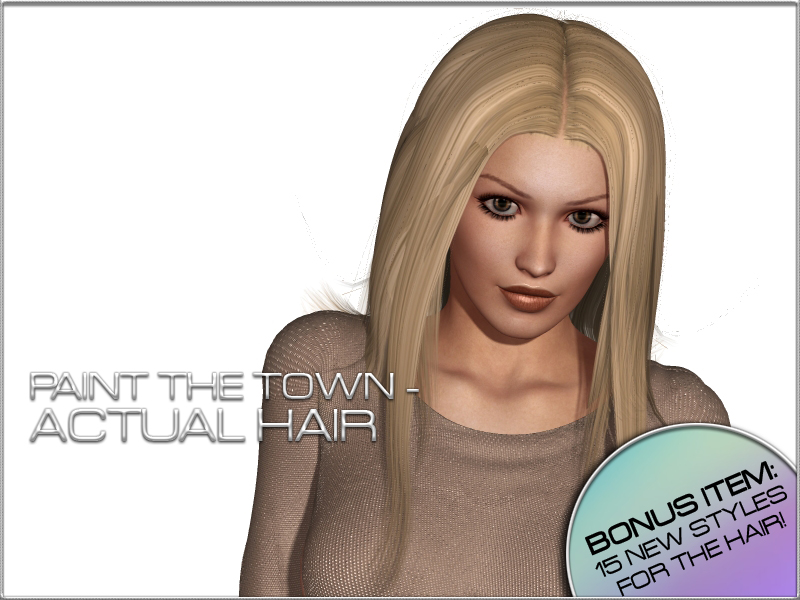 Paint the Town - Actual Hair