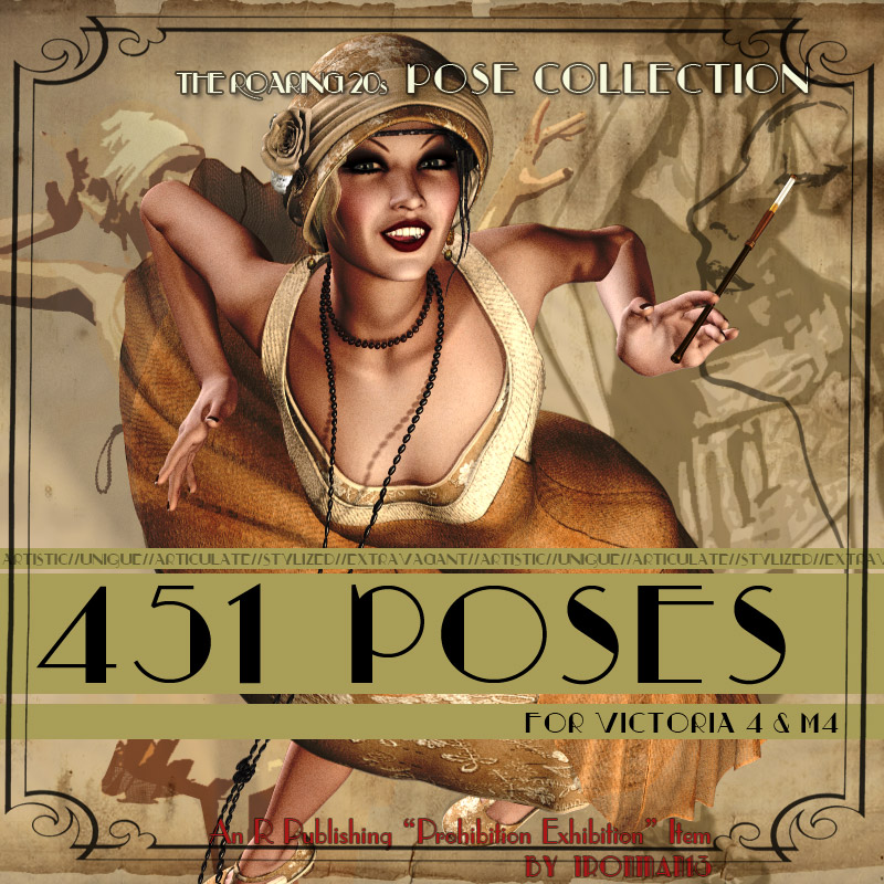 The Roaring 20s Pose Collection