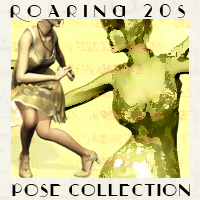 The Roaring 20s Pose Collection Poses/Expressions Themed ironman13