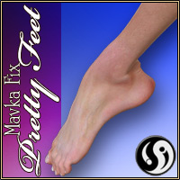 Mavka Fix: Pretty Feet by CJ-studio