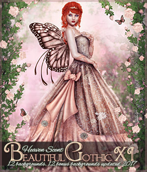 Beautiful Gothic XI: Heaven Scent 2D Graphics Sveva