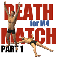 Deathmatch for M4 - part 1 3D Models 3D Figure Essentials Gaming PainMD