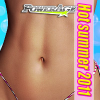 Hot summer 2011 3D Figure Assets powerage