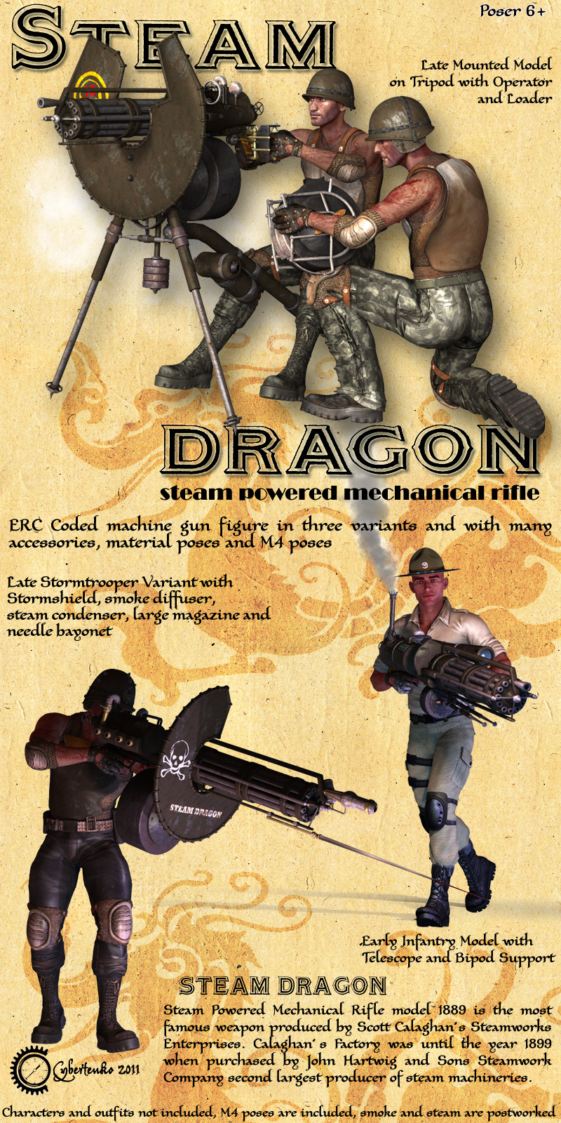 Steam Dragon