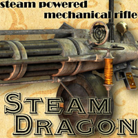 Steam Dragon Props/Scenes/Architecture Themed Cybertenko