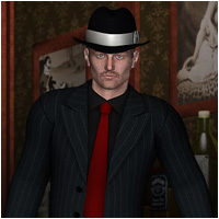 Zoot Suit for M4 3D Figure Essentials RPublishing