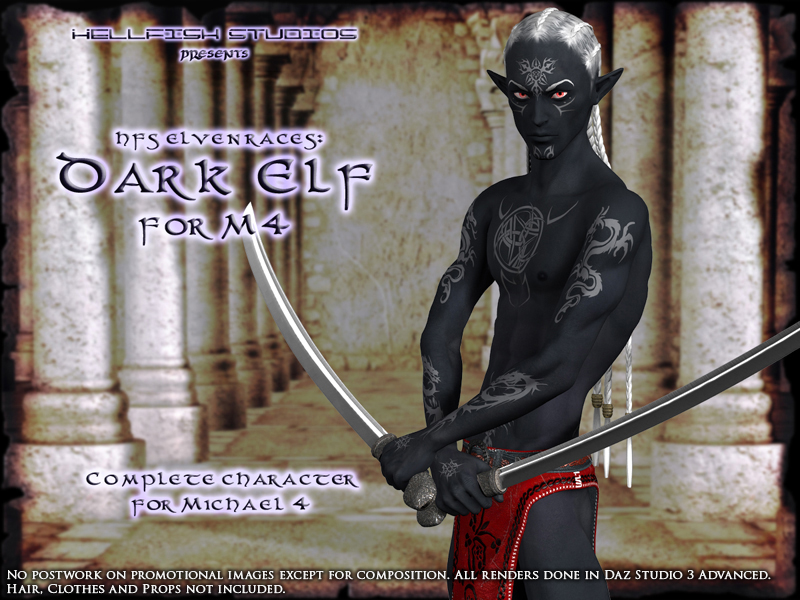 HFS Elven Races- Dark Elf for M4